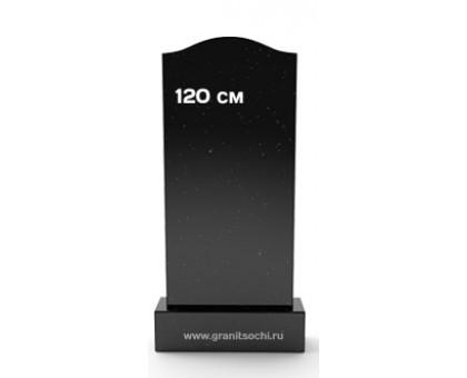 Фигурный надгробный камень плечики 120 см